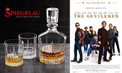 Zum Kinostart von THE GENTLEMEN cooles Whisky-Set gewinnen!