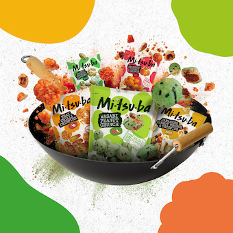 Discover Real Asian Flavours mit den Mitsuba Snacks!