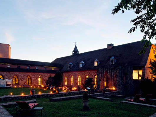 Hotel Kloster Hornbach in der Südwestpfalz