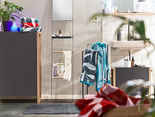 Wild auf Bad-Design: Gewinnen Sie ein Badezimmer-Set von Tchibo