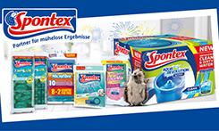Spontex verlost Produktpaket – einfach sauberhaft