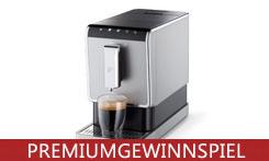 Gewinne einen Kaffeevollautomaten von Tchibo inklusive Qbo Premium Coffee Beans!