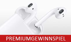 Gewinnen Sie mit uns Apple AirPods!