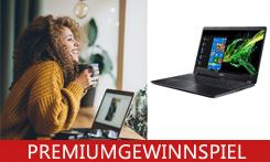 Gewinnen Sie das leistungsstarke Multimedia-Notebook Acer Aspire 5!