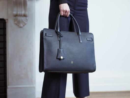 Maxwell-Scott Business Handtasche mit Geldbörse zu gewinnen