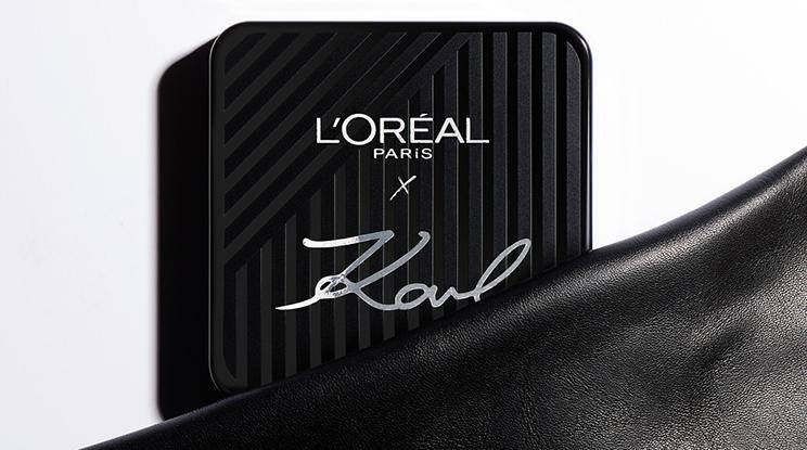 Gewinne ein Set der neuen KARL X L'ORÉAL PARIS Make-up Kollektion