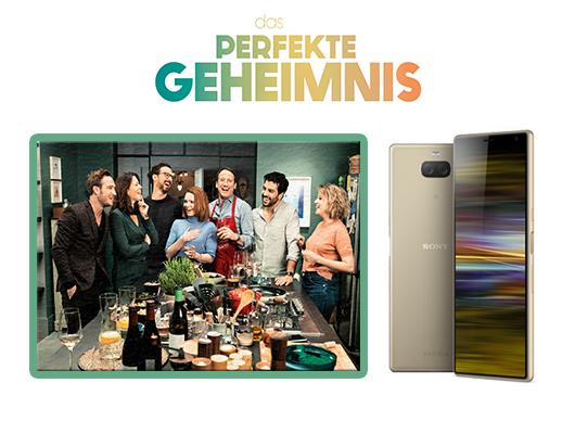 Gewinnen Sie ein Sony Xperia 10 Plus zum Kinostart von DAS PEFEKTE GEHEIMNIS