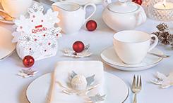 Porzellan-Service von Villeroy&Boch und Pralinen von Ferrero zu gewinnen!