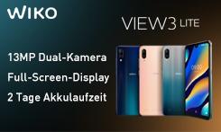 Gewinnen Sie das stylische & smarte Wiko View3 Lite