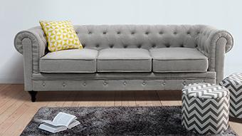 Gewinnen Sie ein Chesterfield Sofa von Beliani