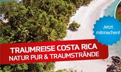 Natur Pur & Traumstrände – genießen Sie Urlaub in Costa Rica!