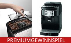 Kaffeegenuss mit IhremDe'Longhi Magnifica Kaffeevollautomaten gewinnen!