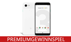 Gewinnen Sie das Google Pixel 3 mit intelligenter Kamera