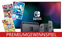 Fitwerden, Rennen fahren und in Nostalgie verfallen mit der Konsole Nintendo Switch!