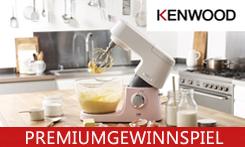Kenwood Chef Sense Colour Collection: Farbiges Backvergnügen