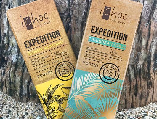 Exotische Schokopakete von iChoc zu gewinnen